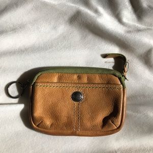 Fossil coin bag